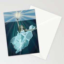 Lady of the Lake Stationery Cards