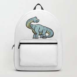 Cartoon Brachiosaurus Backpack