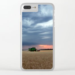 Harvest During A Storm Clear iPhone Case