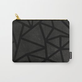 Ab Marble Zoom Black Carry-All Pouch