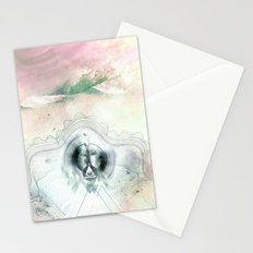 Encircles the world Stationery Cards