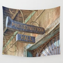 New Orleans Jazz Club Wall Tapestry