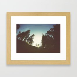 Wide Framed Art Print