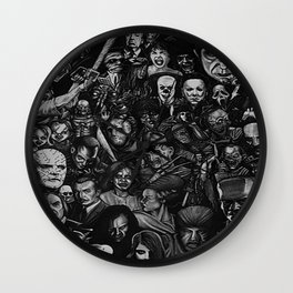 Famous movie characters Wall Clock