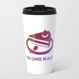 Portal - The cake is a lie Travel Mug