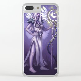 An Elven Noble Clear iPhone Case