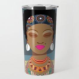 African Queen II Travel Mug