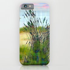 Plaid Beachscape with Seagrass iPhone 6s Slim Case