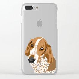 Gus Head Clear iPhone Case