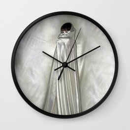 "say no to patriarchy / ""the niqāb"" Wall Clock"