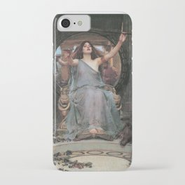 Circe Offering the Cup to Ulysses, John William Waterhouse iPhone Case