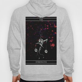 A Tarot of Ink Major Arcana VIII Strength Hoody