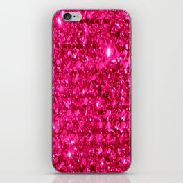 SparklE Hot Pink iPhone Skin