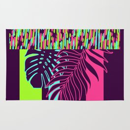 Neon Exotic #society6 #tropical Rug