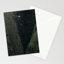 Hawaii Paradise from a Helicopter Stationery Cards