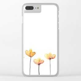 Suck It Up Buttercup Clear iPhone Case