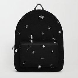 Scribbles Black & White Backpack