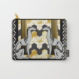 Art Deco Carry-All Pouch