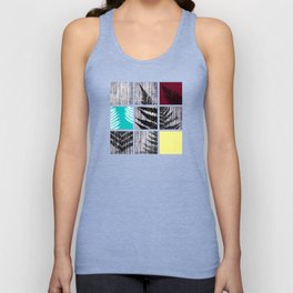 Square Fern Unisex Tank Top