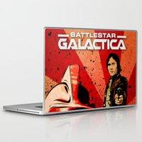 battlestar galactica Laptop & iPad Skins featuring Battlestar Galactica by Storm Media