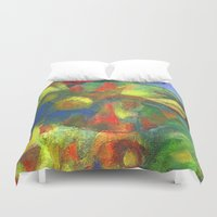 clown Duvet Covers featuring Clown by Nato Gomes