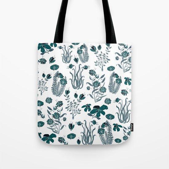 green or blue garden?? Tote Bag