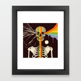 Dark Side of Existence Framed Art Print