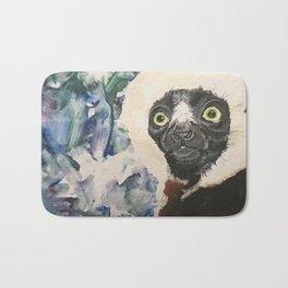 Coquerels Sifka Hand Painted - Print Bath Mat