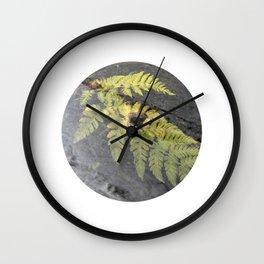 fern leaf XVI Wall Clock