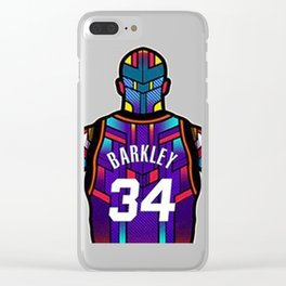 Charles Barkley Clear iPhone Case