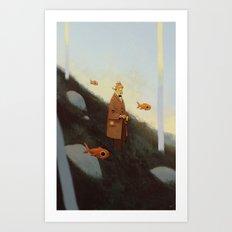 Mr. Albert Art Print