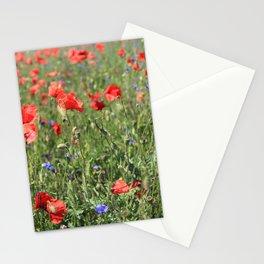 poppy flower no6 Stationery Cards
