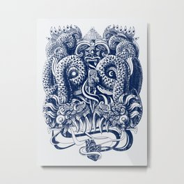 Tlaloc Metal Print