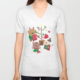 Holiday Crew Unisex V-Neck