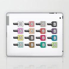 Nail Polish-holic Laptop & iPad Skin