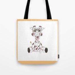 JujuGiraffe Tote Bag