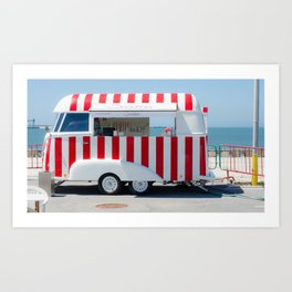 Santini, ice cream Art Print