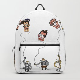Heads in the clouds Backpack