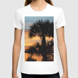 Sago Palm Tree Florida Sunrise T-shirt