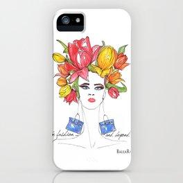 Tulips and Handbags Fashion Art  iPhone Case