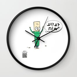 "Dialog with the dog N25 - ""Doctor"" Wall Clock"