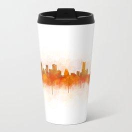 Houston City Skyline Hq v3 Travel Mug