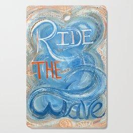 Ride The Wave Cutting Board