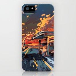 american landscape 7 iPhone Case