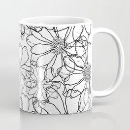illustrated bitterroot design Coffee Mug