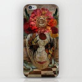 Venetian Mask in Fantasy World iPhone Skin