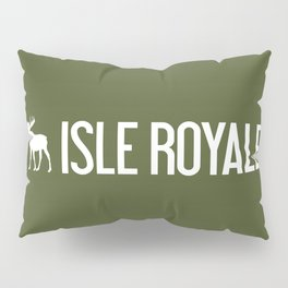 Isle Royale Moose Pillow Sham