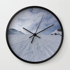 Whittier's backyard Wall Clock