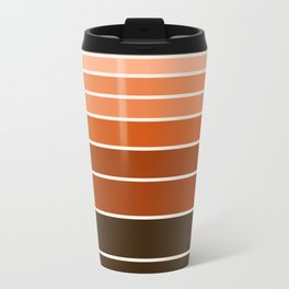 Chilln' - 70s vibes retro throwback minimalist decor 1970's style circle Travel Mug