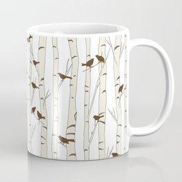 Birds & Birch - Mocha Beige Coffee Mug
